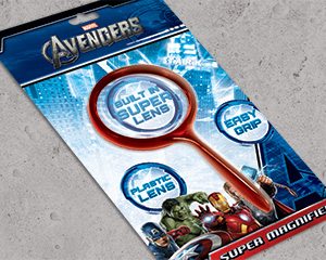 The Avengers Magnifying Glass Packaging