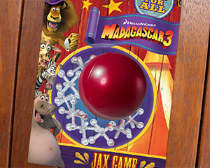 Madagascar Jax Game Packaging