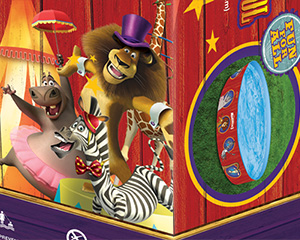 Madagascar 3 Snapset Pool Packaging