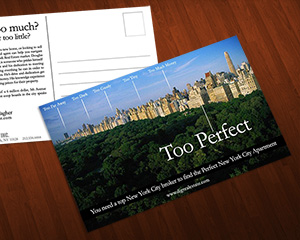Real Estate Postcard